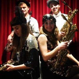 Charleston show in Theatercafe Hopper en Schouwburg de Lawei, Drachten, Friesland